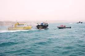 امداد دریایی