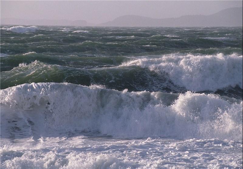 خلیج فارس طوفانی