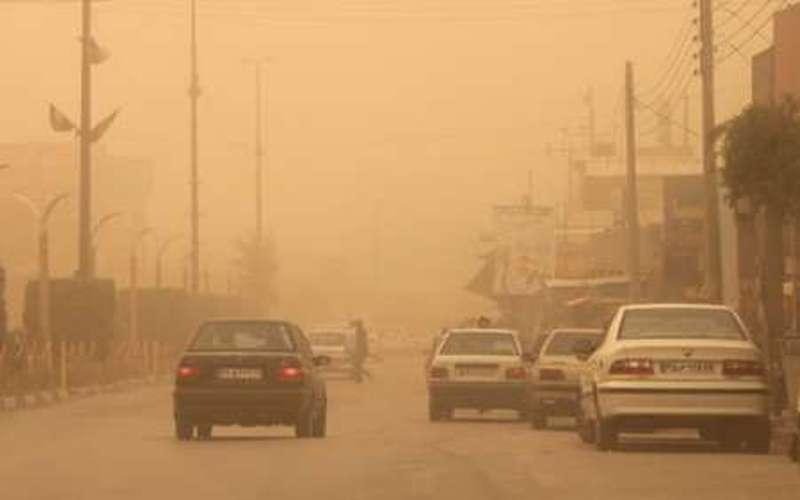 رشد ۳٫۵ برابری ریزگردها در آسمان استان بوشهر