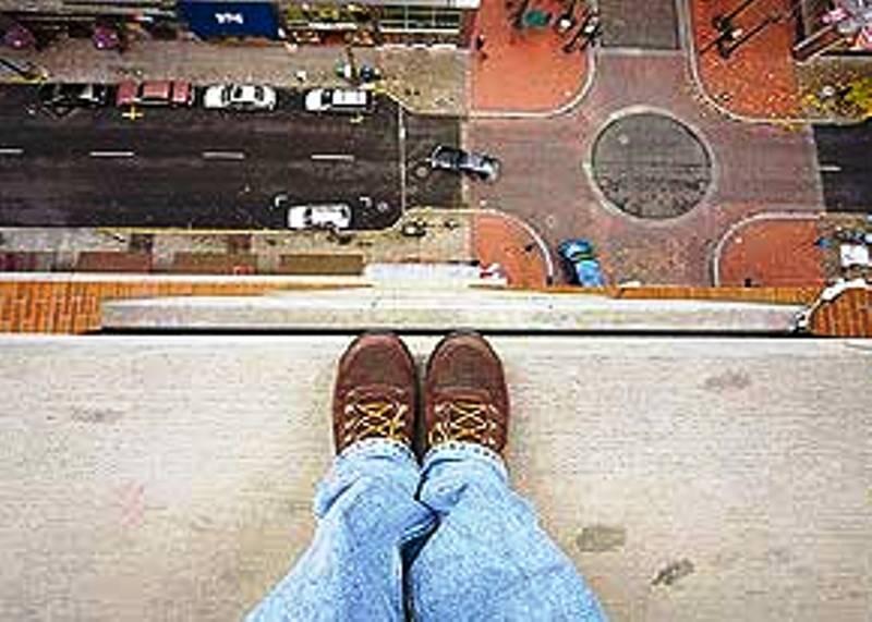 خودکشی از ارتفاع