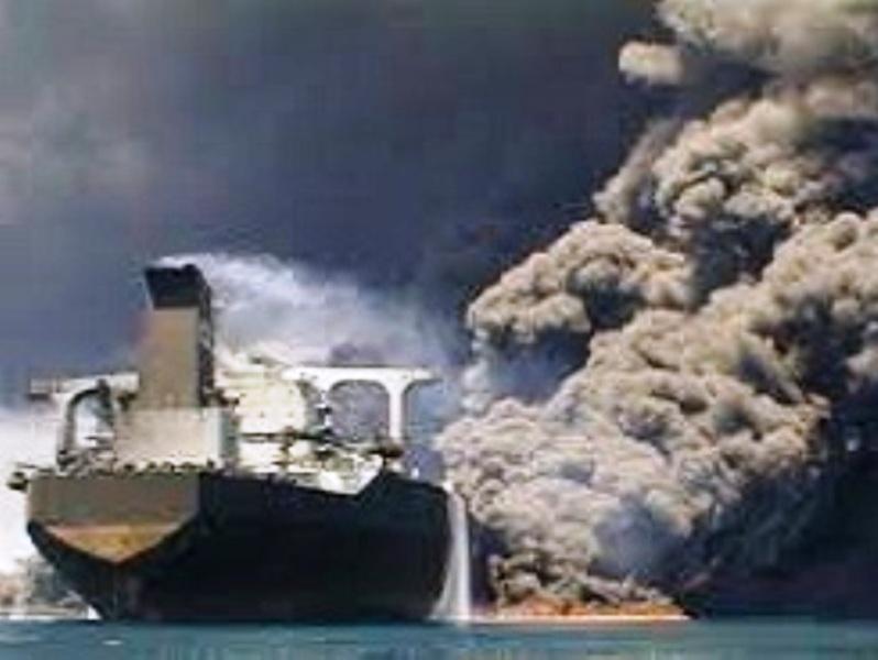 حادثه برای نفتکش ایرانی
