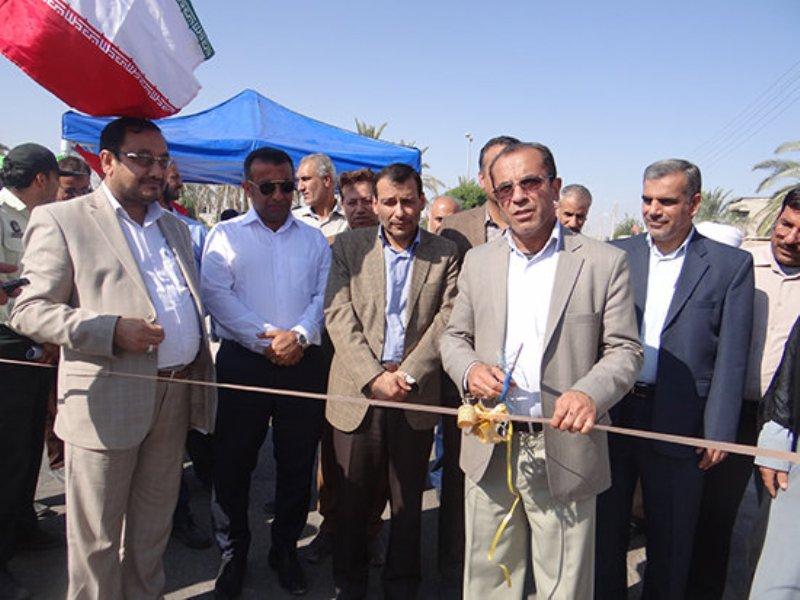 افتتاح طرح هادی روستایی
