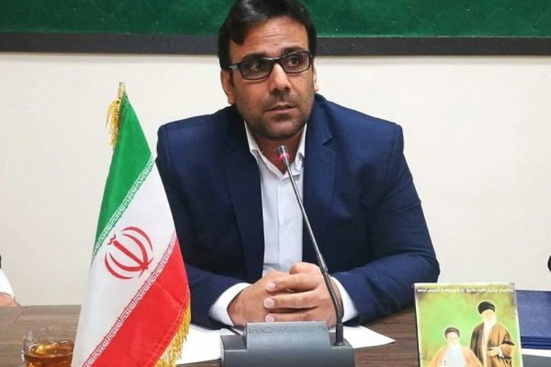 محمود رضایی بخشدار خارگ