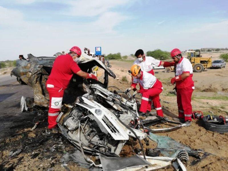تصادف در عامری تنگستان