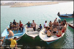 شنای آبهای آزاد لاور ساحلی