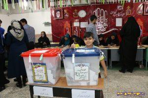 کودکان و انتخابات در دشتی
