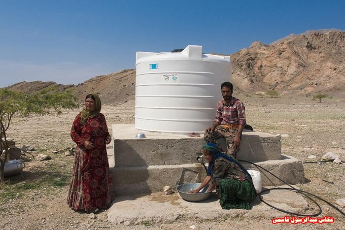مخازن آب شرب در مناطق عشایری دشتی