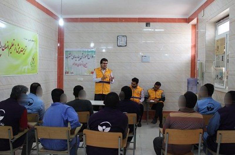کلاس آموزشی در زندان دشتی