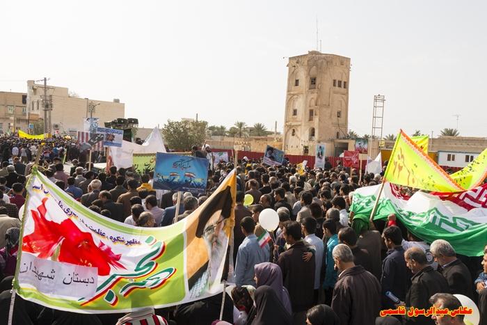 راهپیمایی 22 بهمن خورموج