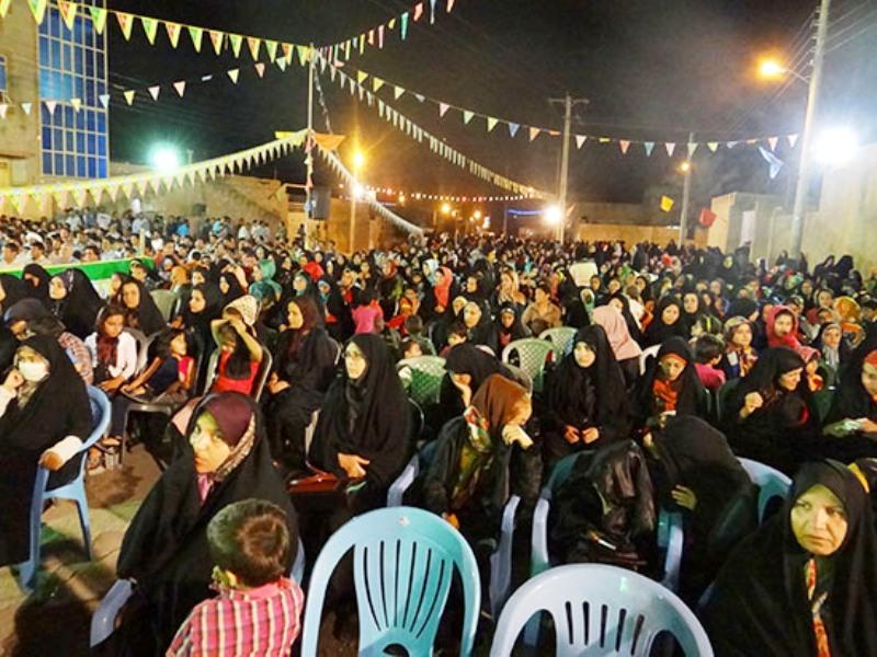 جشن ازدواج آسان ۳۰ زوج جوان در دشتی برگزار شد