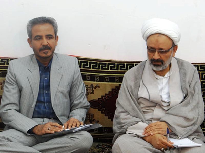 محمد حسینی/ دیدار با امام جمعه خورموج