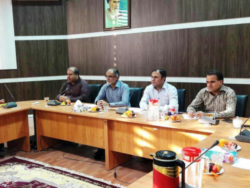 نشست انتخاب هیات رئیسه شورای چهارم خورموج