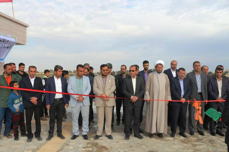 افتتاح بوستان امید بادوله
