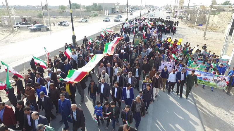 راهپیمایی 22 بهمن بادوله