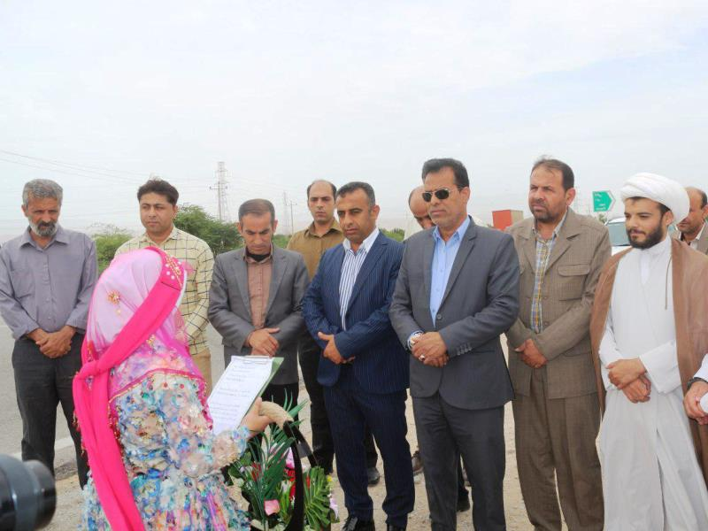 فرماندار دشتی در بادوله