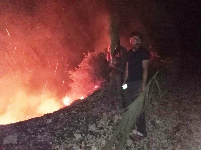 آتش سوزی در سهو